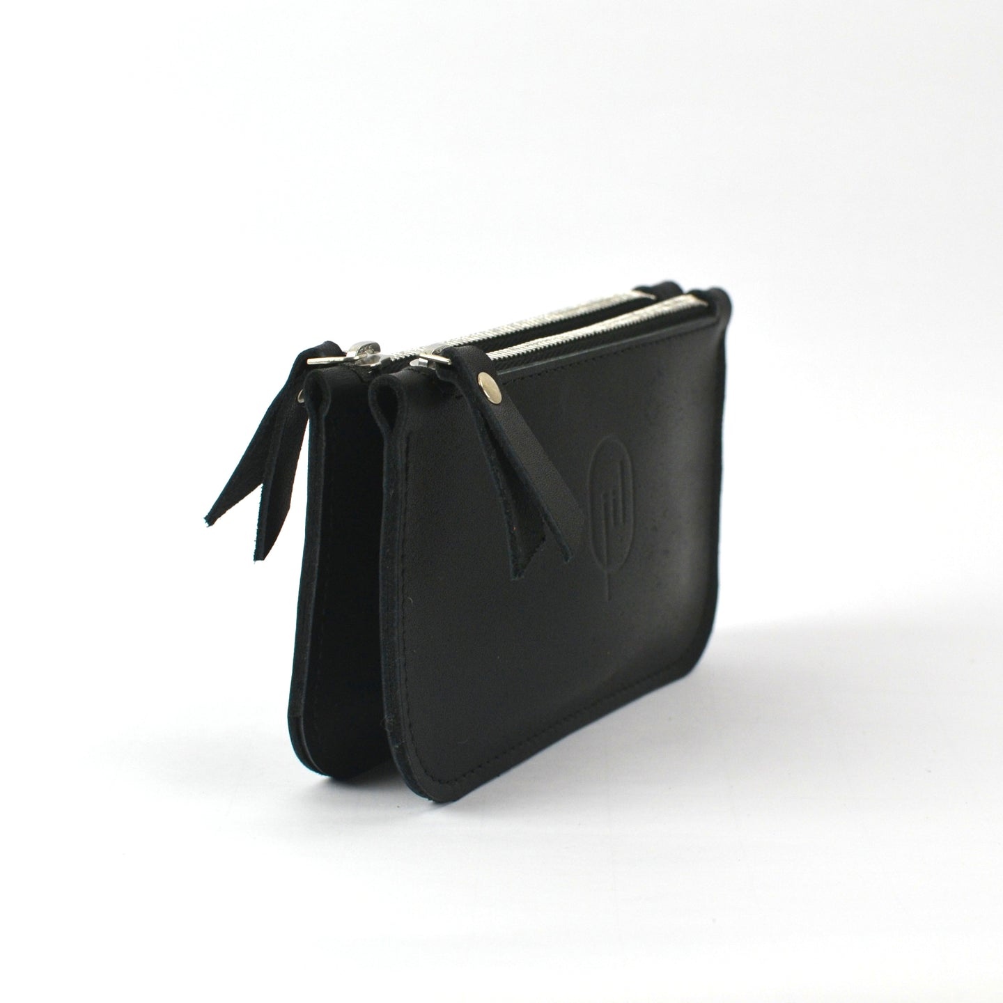 twin wallet zwart