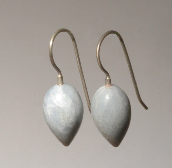 Angelite Rounded Drop Earrings
