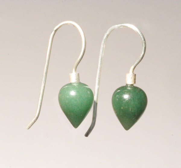 Aventurine Mini Point Earrings