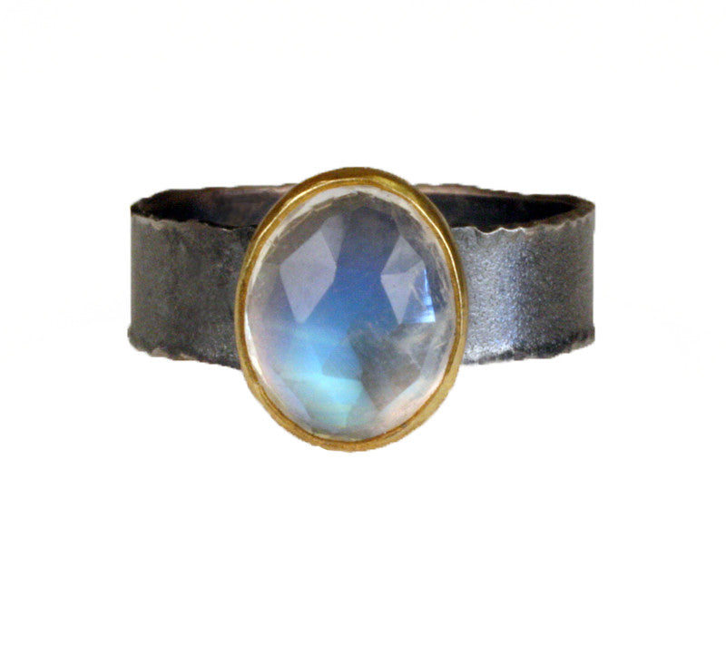 Moonstone Oval Ring