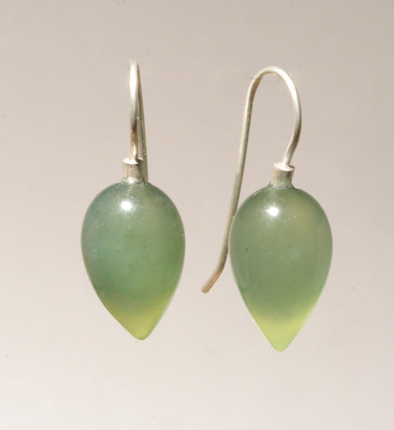 Serpentine Rounded Drop Earrings