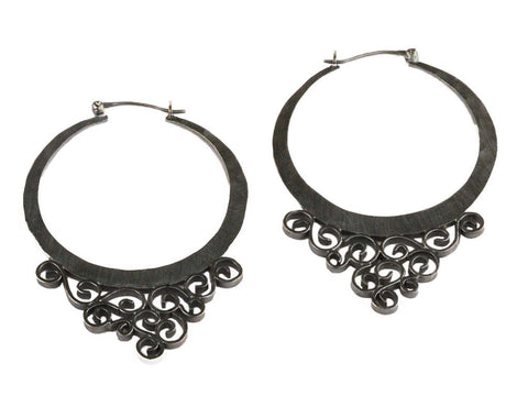 Tara Filigree Hoops