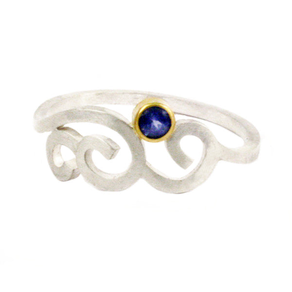 Wrought Curl Ring
