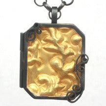 Brocade Locket