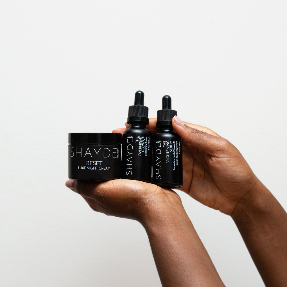 The Trio - SHAYDE BEAUTY skincare made with melanin in mind