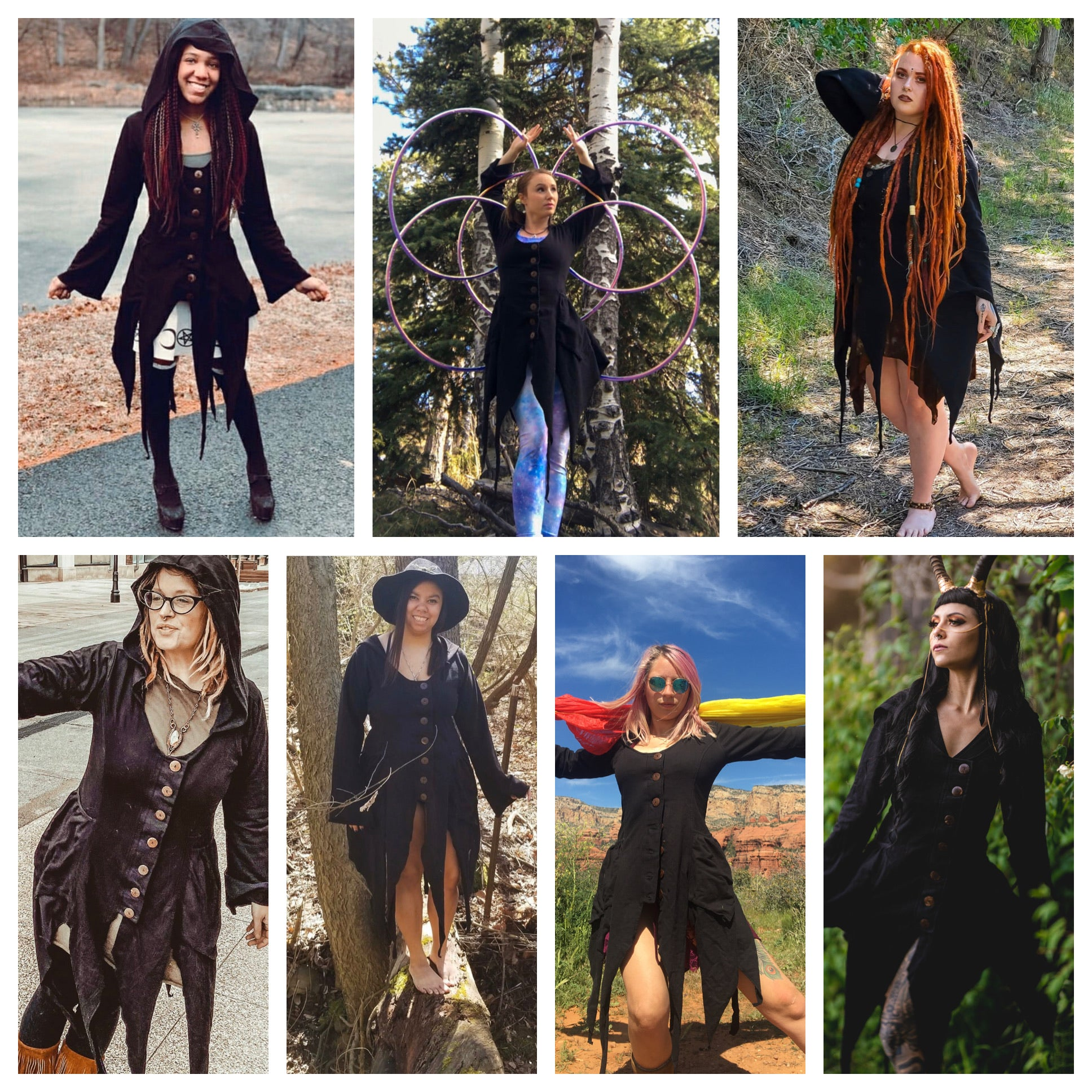 ALL BLACK FAIRY JACKETS