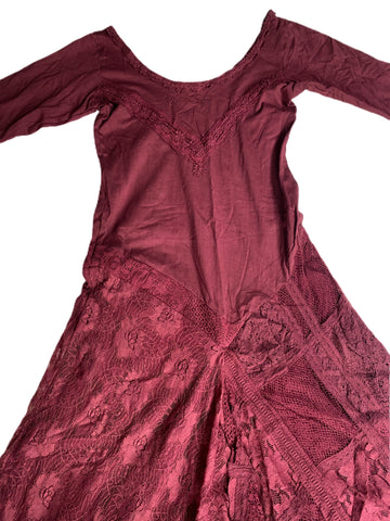 Maroon Fairy Dress