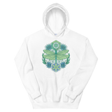 V6 Sacred Dragonfly Unisex Sweatshirt Featuring Original Artwork By Abby Muench