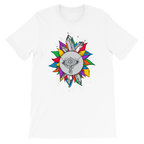 Rainbow Crystal Fairy Unisex T-Shirt