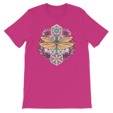 V3 Sacred Dragonfly Unisex T-Shirt Featuring Original Artwork By Abby Muench