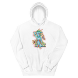 V1 Butterfly Girl Unisex Sweatshirt Featuring Original Artwork By IntoThaVoid