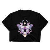 V3 Sacred Butterfly Crop Top (Unhemmed Bottom)
