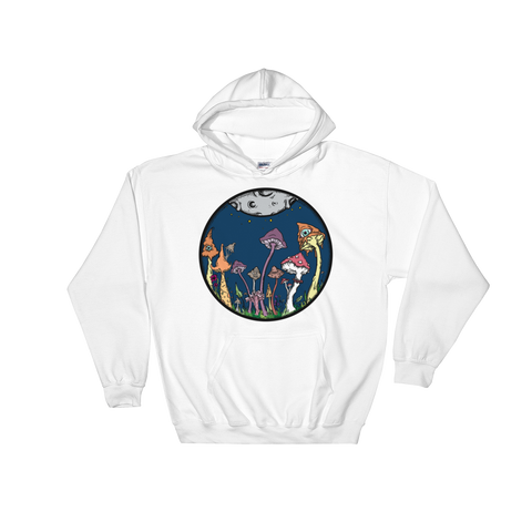 Midnight Fairy Garden Unisex Sweatshirt