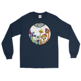 Rainbow Fairy Garden Unisex Long Sleeve T-Shirt