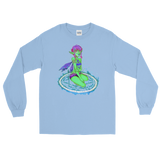 V5 Valora Unisex Long Sleeve Shirt Featuring Original Artwork By Fae Plur