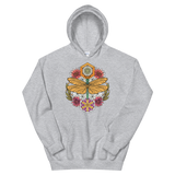 V4 Sacred Dragonfly Unisex Sweatshirt Featuring Original Artwork By Abby Muench