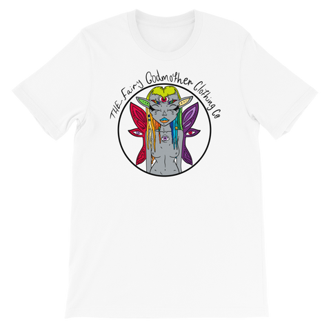 Rainbow Fairy Godmother Unisex T-Shirt
