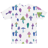 All Over Print Mushroom Shirt Featuring Original Artwork by Intothavoid