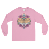 V3 Sacred Dragonfly Unisex Long Sleeve Shirt Featuring Original Artwork By Abby Muench
