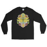 V2 Sacred Dragonfly Unisex Long Sleeve Shirt Featuring Original Artwork By Abby Muench
