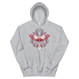 V2 Sacred Butterfly Unisex Sweatshirt Featuring Original Artwork By Abby Muench