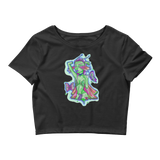 V2 Butterfly Girl Crop Top Featuring Original Artwork By IntoThaVoid