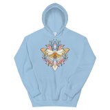 V1 Sacred Butterfly Unisex Sweatshirt Featuring Original Artwork By Abby Muench