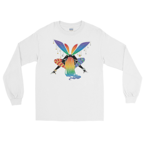 V8 Balance Unisex Long Sleeve Shirt Featuring Original Artwork by A Sage's Creations