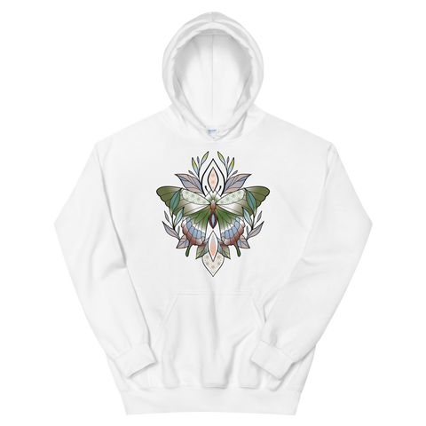 V5 Sacred Butterfly Unisex Sweatshirt Featuring Original Artwork By Abby Muench
