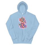V4 Butterfly Girl Unisex Sweatshirt Featuring Original Artwork By IntoThaVoid