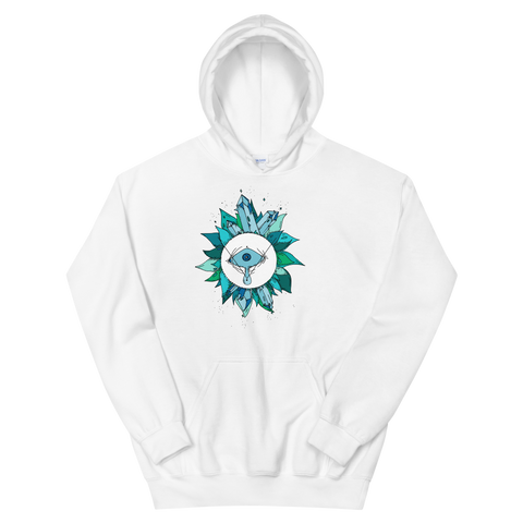 Teal Crystal Unisex Sweatshirt