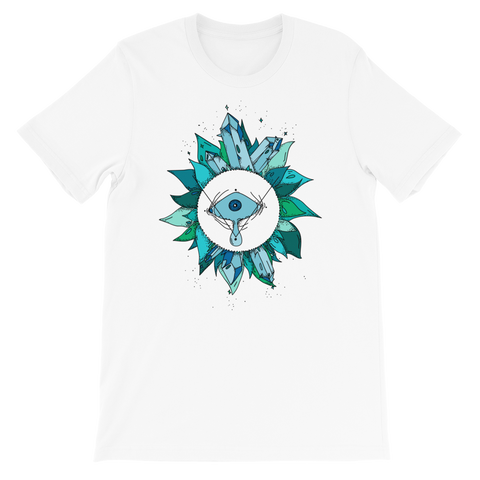 Teal Crystal Fairy Unisex T-Shirt