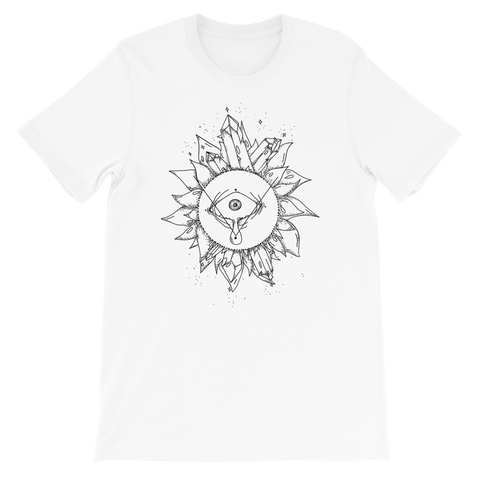 B&W Crystal Fairy Unisex T-Shirt