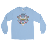 V4 Sacred Butterfly Unisex Long Sleeve T-Shirt Featuring Original Artwork By Abby Muench