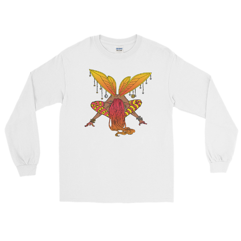 V1 Balance Unisex Long Sleeve Shirt Featuring Original Artwork by A Sage's Creations
