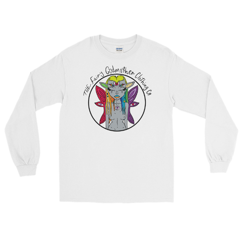 Rainbow Fairy Godmother Unisex Long Sleeve T-Shirt