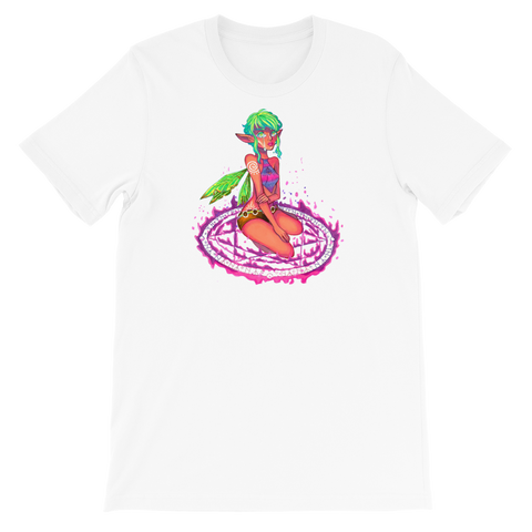 Valora Unisex T-Shirt Featuring Original Artwork By Fae Plur