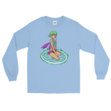 V3 Valora Unisex Long Sleeve Shirt Featuring Original Artwork By Fae Plur