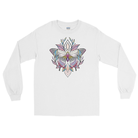 V4 Sacred Butterfly Unisex Long Sleeve T-Shirt