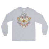 V1 Sacred Butterfly Unisex Long Sleeve T-Shirt Featuring Original Artwork By Abby Muench