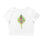 V6 Nova Crop Top Featuring Original Artwork by Fae Plur