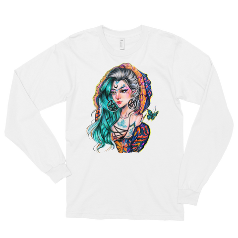 Sapere Aude Unisex Long Sleeve T-Shirt Featuring Original Artwork By Chamandahy