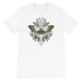 V5 Sacred Butterfly Unisex T-Shirt Featuring Original Artwork By Abby Muench