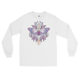 V3 Sacred Butterfly Unisex Long Sleeve T-Shirt Featuring Original Artwork By Abby Muench