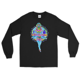 V2 Nova Unisex Long Sleeve Shirt Featuring Original Artwork by Fae Plur