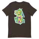 V5 Butterfly Girl Unisex T-Shirt Featuring Original Artwork By IntoThaVoid
