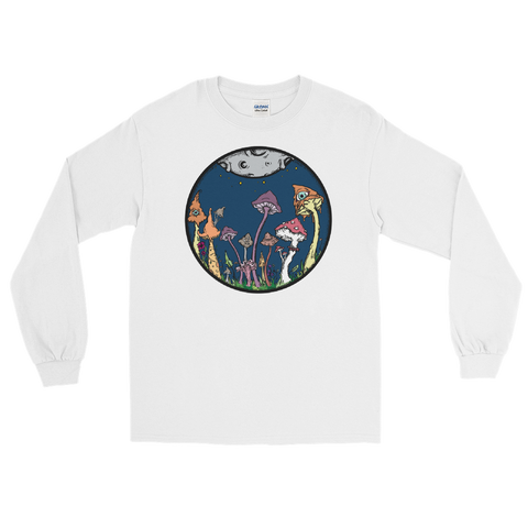 Midnight Fairy Garden Unisex Long Sleeve T-Shirt
