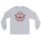 V2 Sacred Butterfly Unisex Long Sleeve T-Shirt Featuring Original Artwork By Abby Muench