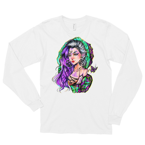V.2 Sapere Aude Long sleeve T-Shirt Featuring Original Artwork By Chamandahy