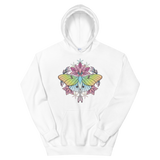 V3 Sacred Lunar Moth Unisex Sweatshirt Featuring Original Artwork by Abby Muench